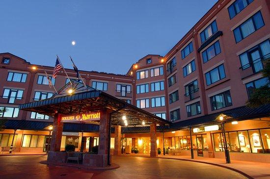 Boulder Marriott: Entrance