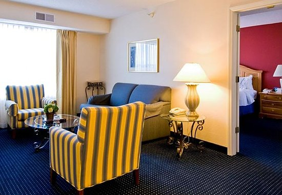 Residence Inn Wilmington Landfall: One-Bedroom Executive Suite - Living Area