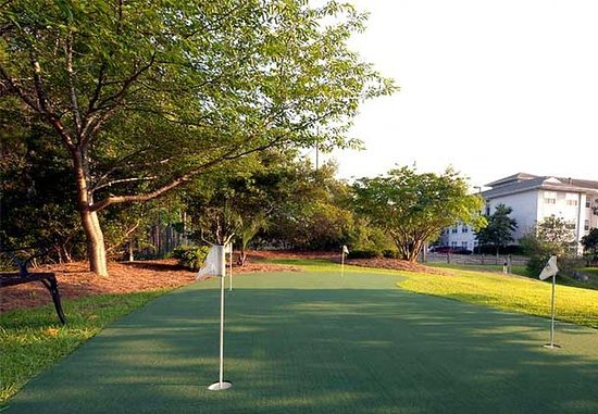 Residence Inn Wilmington Landfall: Putting Green