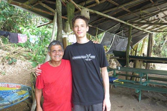 Drake Bay, Kosta Rika: Ricardo accueille très chaleureusement