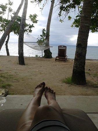 Toberua Island, Fiji: what a view