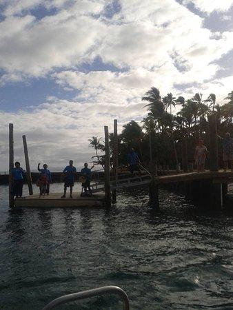 Toberua Island, Fiji: farewell =(