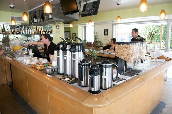 Greenporter Hotel: Continental Breakfast Buffet