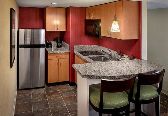 Westborough, MA: One-Bedroom Suite Kitchen