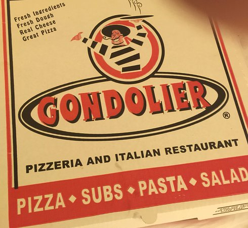 Gondolier Pizza Italian Restaurant Box