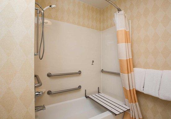 Deptford, Nueva Jersey: Accessible Suite Bathroom