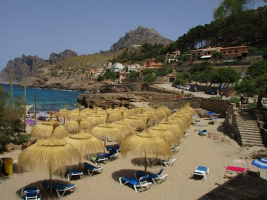 Sant Vicent de sa Cala, สเปน: The sandiest of the 4 small beaches