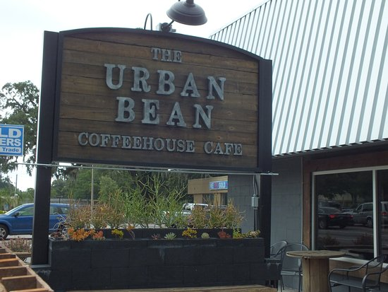 the urban bean coffeehouse cafe sign exterior picture of the urban