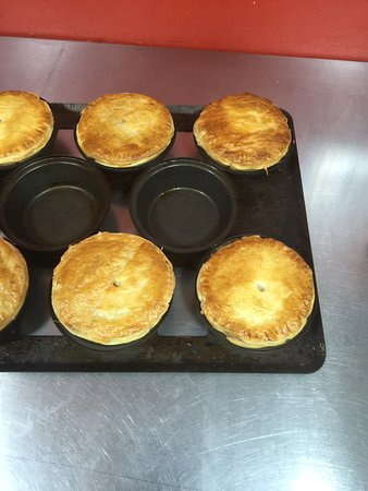 Rosebery, Australia: home made pies