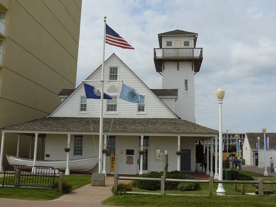 Old Coast Guard Station Virginia Beach Boardwalk