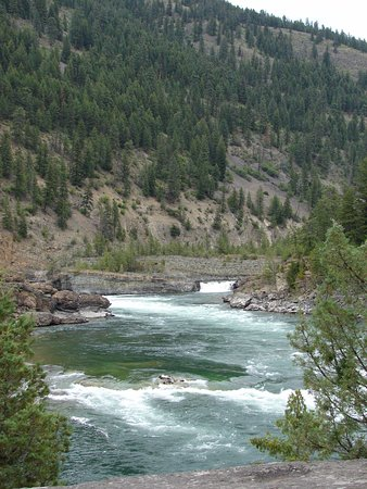 Libby, MT: not a high falls, but very pretty