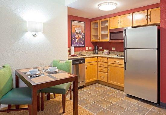 Dedham, MA: One-Bedroom Suite Kitchen