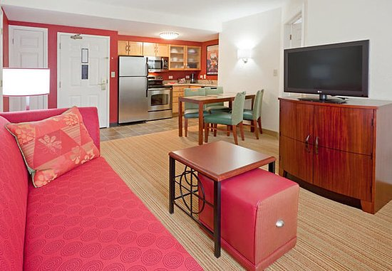 Dedham, MA: Two-Bedroom Suite Living Area