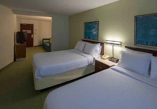 Bolingbrook, IL: Double/Double Suite Bedroom Area