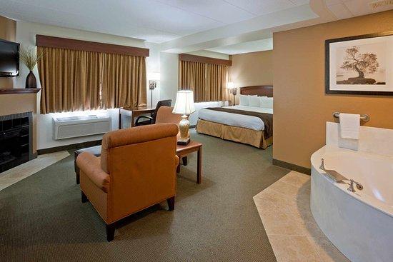Americ Inn Sauk Centre Deluxe Suite