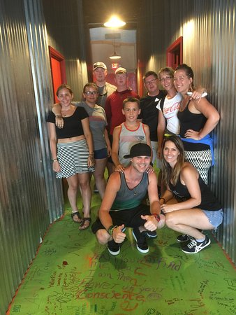 Walking Dead Room Escape Picture Of Myrtle Beach Room