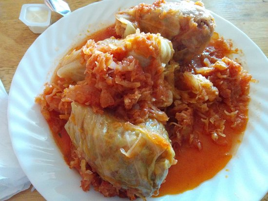 Ewing, Nueva Jersey: Stuffed Cabbage