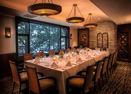 Resort at Squaw Creek: Private Dining Room