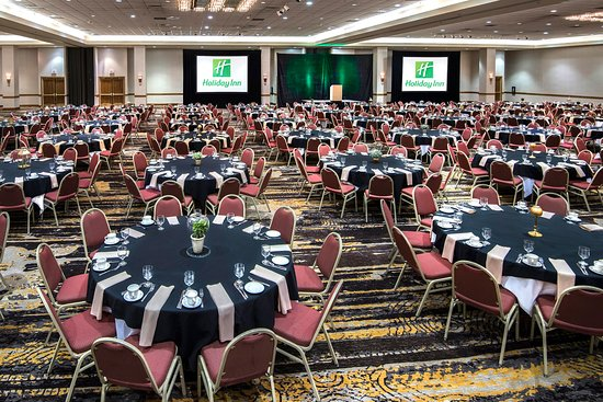 Springdale, AR: Convention Center Main Hall Banquet Style