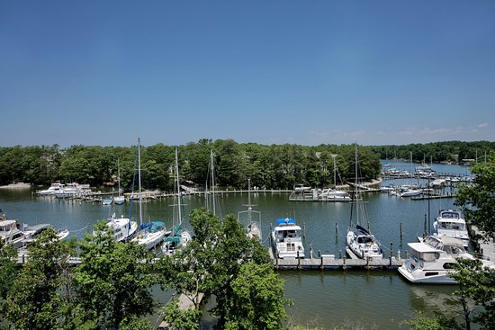 Solomons, MD: View from  a Water View Suite