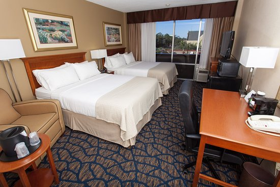 Holiday Inn Gainesville University Center: 2 Queen Size Beds