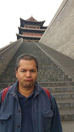 Datong, Chiny: Escaleras de acceso