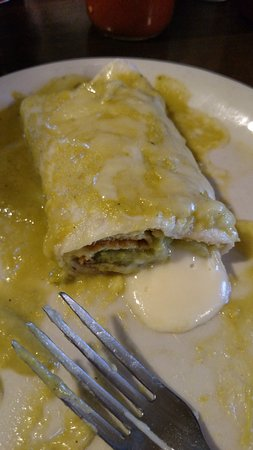 Ranchway BBQ & Mexican Food: Relleno Banado (A Chile Pepper Stuffed w/Queso and Topped Like An Enchilada) - Muy Delicioso!!!