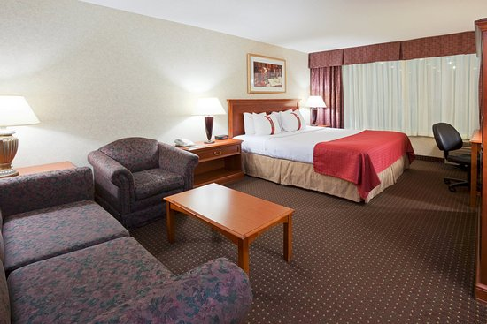 Holiday Inn Fond Du Lac : King Bed Guest Room