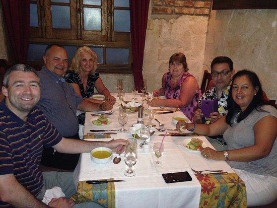 Restaurante Paladar Decamerón : enjoying our meal