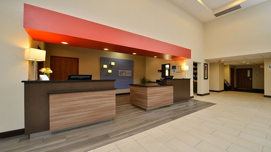 Milford, MA: Welcome to the Holiday Inn Express! We hope you enjoy your stay!