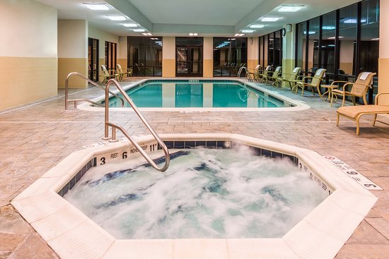 Webster, Νέα Υόρκη: Large Indoor Swiming Pool and Whirlpool