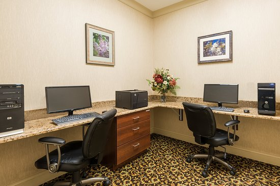 Webster, NY: 24 hour Business Center and Front Desk Staff are always available