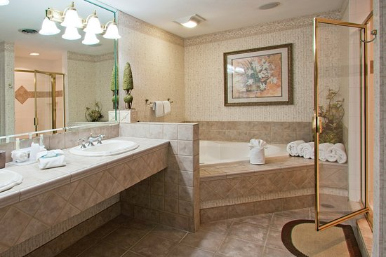 Mishawaka, IN: Presidential Suite Bathroom