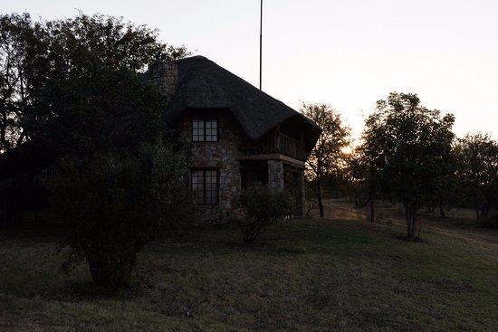 The Farm Inn: Our building. We had the bottom floor.