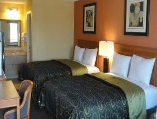 Knights Inn Arlington: Upgraded 2 Queen Beds