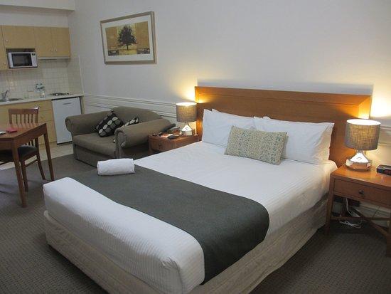 Kew, Australien: Comfortable bed
