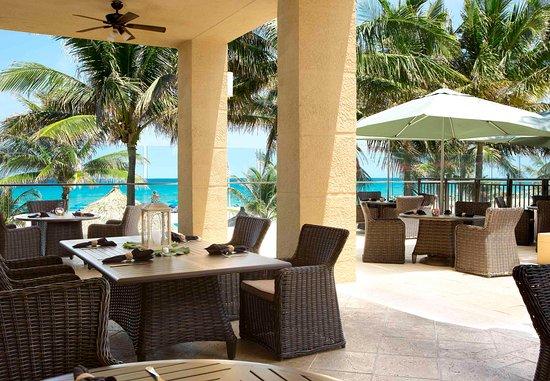Singer Island, فلوريدا: Outdoor Dining