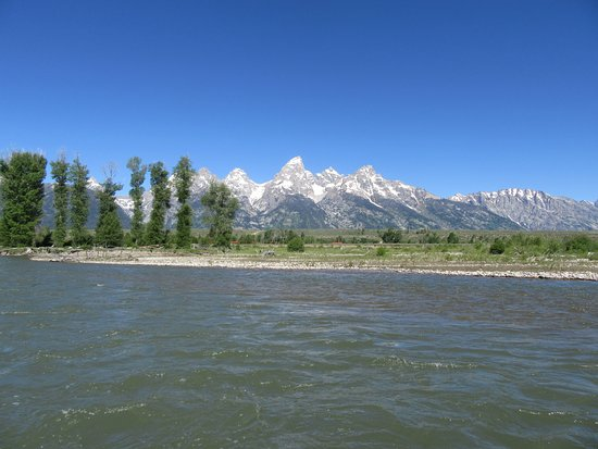 National Parks Float Trips: The Grand Tetons