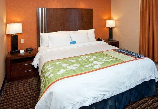 Millbrae, كاليفورنيا: King Guest Room Sleeping Area