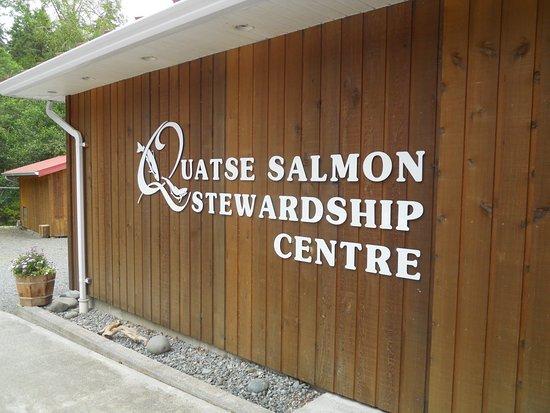 Port Hardy, Canada: Quatse Salmon Stewardship Centre