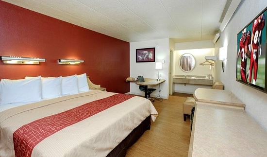 Red Roof Inn Chicago Lansing: Superior King