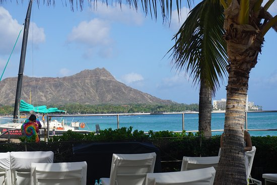House Without a Key: Diamondhead from the patio