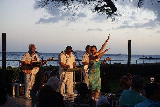 House Without a Key: Musicians and hula