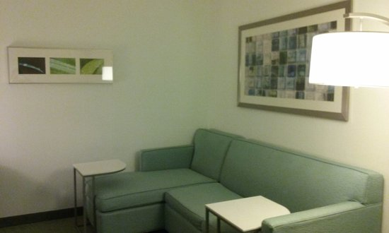 SpringHill Suites Winston-Salem Hanes Mall: Living area