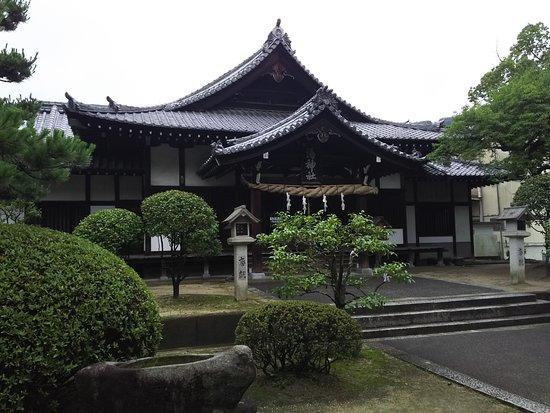 Yu Shrine: 湯神社本殿
