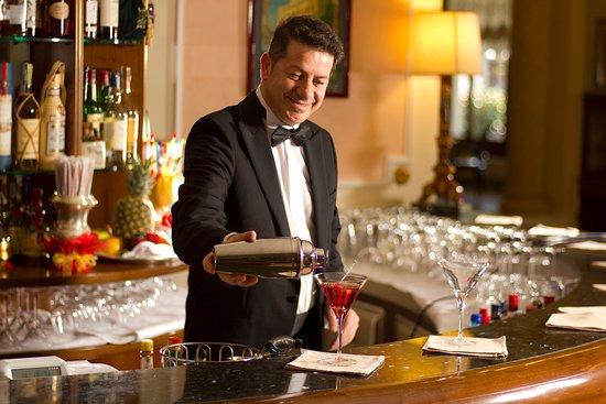 Αμπάνο Τέρμε, Ιταλία: Bar at Grand Hotel Terme Trieste & Victoria