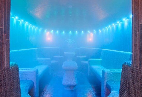 Αμπάνο Τέρμε, Ιταλία: Steam bath at Grand Hotel Terme Trieste & Victoria