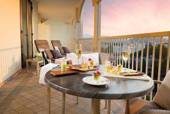 Αμπάνο Τέρμε, Ιταλία: Luxury Balcony at Grand Hotel Trieste & Victoria
