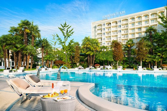 Αμπάνο Τέρμε, Ιταλία: Pool at Grand Hotel Terme Trieste & Victoria