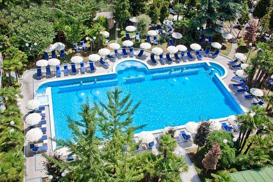 Abano Terme, Włochy: Pool at Grand Hotel Terme Trieste & Victoria